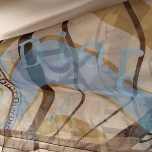 SOLD *****Authentic Dior Silk Scarf